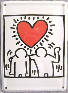 Heart-Love-Friendship-Love-11cm-x-8cm-Mini-Tin-Sign