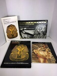 VTG-1976-Treasures-of-Tutankhamun-King-Tut-Exhibition-EXXON-Teacher-039-s-guide