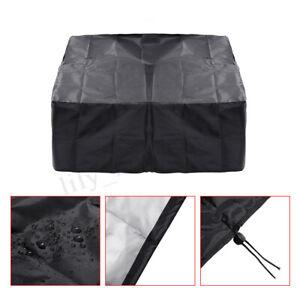 Schwarz-Wasserdicht-Abdeckung-BBQ-Grill-Abdeckhaube-Schutzhuelle-Regenschutz-Neu