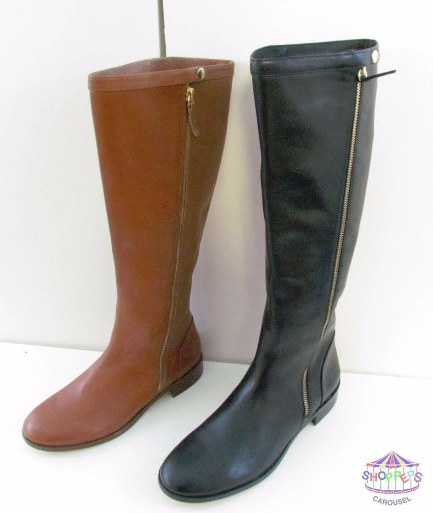 J J J Crew Harper Leather Knee High Boots style 95695   328 NEW 8bbaa8