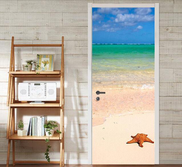 3D Starfish 73 Tür Wandmalerei Wandaufkleber Aufkleber AJ AJ AJ WALLPAPER DE Kyra | Verschiedene aktuelle Designs  | Spaß  |  5cfa0a