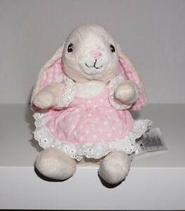 Das Ganze System StäRken Und StäRken Vereinigt H&m Kuscheltier Hase Mit Rosa Kleid 16cm Plüschtier Stofftier Super Zustand Plüschtiere & -figuren Spielzeug