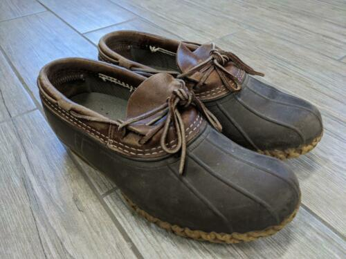vintage LL BEAN hunting boots LOW duck shoes 9.5 1