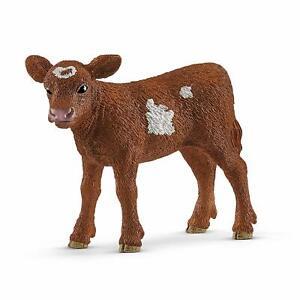 Schleich-13881-Texas-Longhorn-Calf-Farm-Animal-Model-Toy-Figurine-2019-NIP