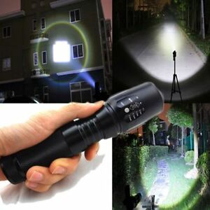 2000Lm-CREE-XM-L-T6-LED-Focus-18650-Flashlight-5-Mode-Torch-Tactical-Light-Lamp