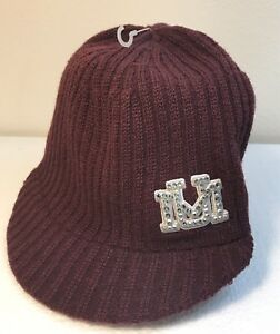 Details about Montana Grizzlies Womens Bling Crystal Rhinestone Beanie  Winter Hat Cap