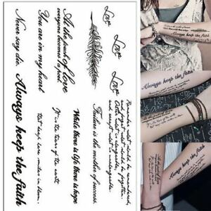 Removable-Temporary-Tattoo-Sexy-English-Word-Body-Art-Tattoos-Sticker-Waterproof