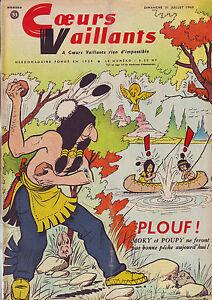 coeurs-vaillants-31-juillet-1960-voir-descripitf