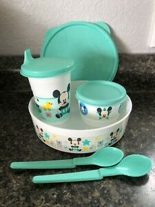 Pack Of 2 Baby Toddler Snack Bowls With Lid /& Feeding Spoon Travel Bowl