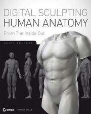 ZBrush Digital Sculpting Human Anatomy, Spencer, Scott, Very Good Book