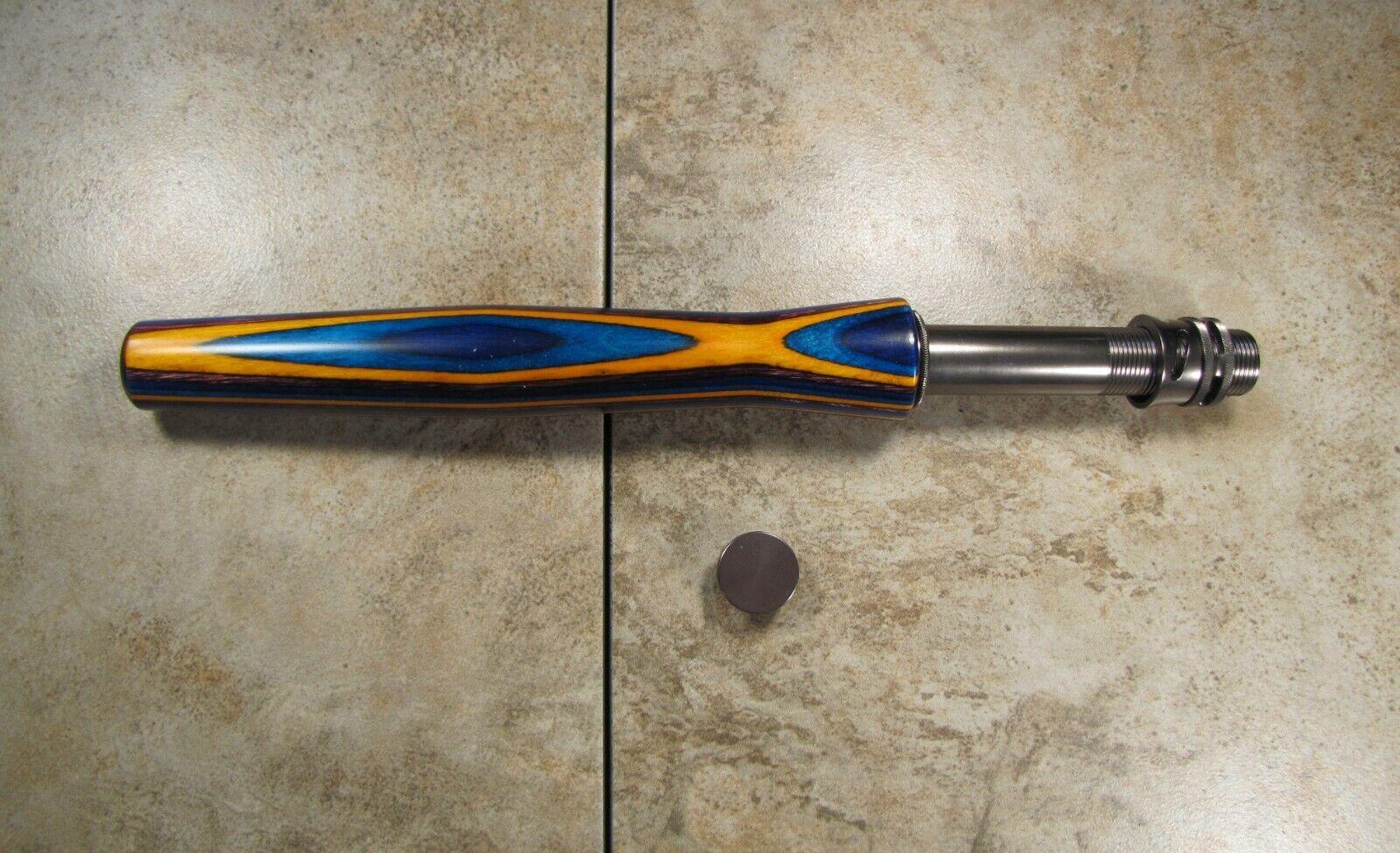 Half  Wells Fly Rod Handle kit, Gemwood SpectraPly, Hidden  Hood A6c  sale outlet