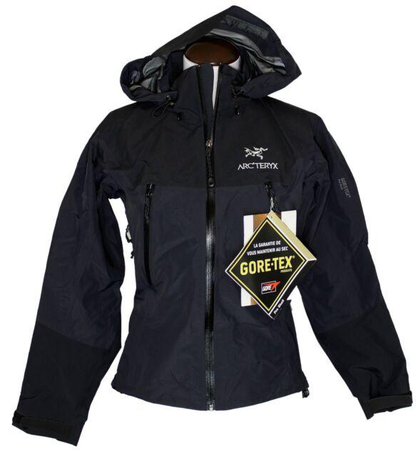Beta Sz Waterproof Ar Gore Arc'teryx Jacket Black Coat Xs Pro Tex Womens N0wn8m