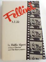 Fellini: A Life By Hollis Alpert (1988, Paperback, Illustrated)