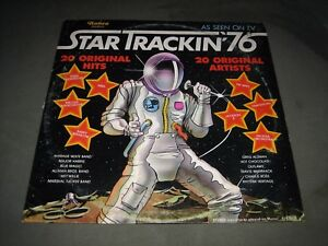 Vintage-1976-034-Star-Trackin-039-76-034-compilation-LP-Ronco-Records-R-1976-2-EX