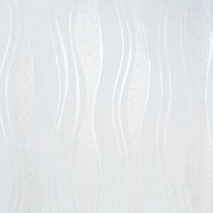 Tapete weiß glitzer  Vlies Tapete PS 13191-20 Design Wellen Linien weiß perlmutt ...
