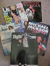 MICHAEL JACKSON COLLECTOR MAGAZINES (lot of 5)