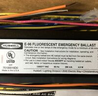 Hubbell Emergency Light Ballast Fluorescent E-96