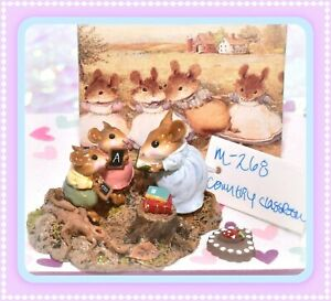 Wee-Forest-Folk-M-268-Country-Classroom-Retired-Teacher-Students-Mouse-WFF