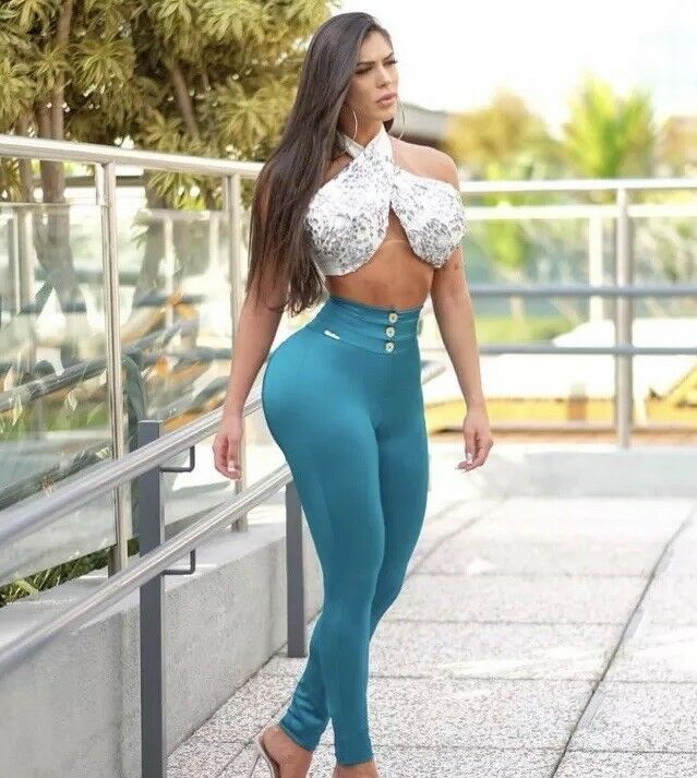 Brazilian Outfit Two-Piece ( Leggings + Top) Only White Available