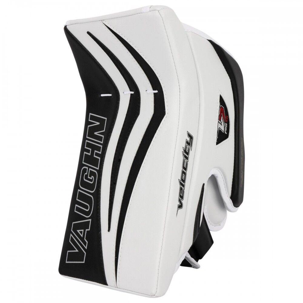 7635a38bab2 Vaughn XR Pro SR Ice Hockey Goalie Blocker glove Senior Black red Velocity  V7 for sale online