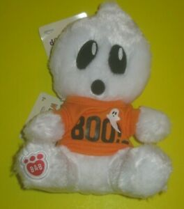 BOO SHIRT BUILD-A-BEAR Halloween White BOORIFIC GHOST Buddies Smallfrys Mini