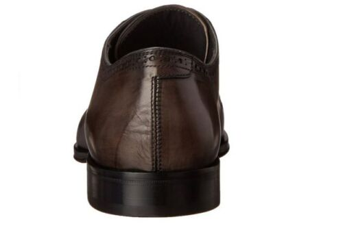 Scarpe Pelle To York Uomo Grigia Boot New Oxford q4Upx7F