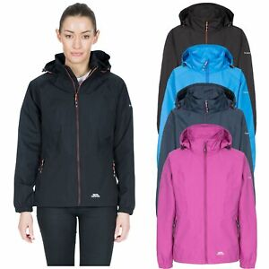 Trespass-Womens-Waterproof-Jacket-Hiking-Hooded-Coat-For-Ladies-XXS-XXL