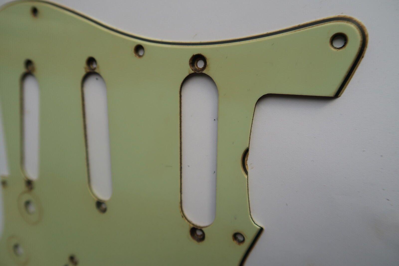 '59  62 Fender Stratocaster Pickguard SSS Mint Grün 60 61 1962 relic Aged USA