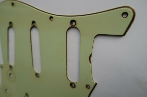 /'59  62 Fender Stratocaster Pickguard SSS Mint Green 60 61 1962 relic Aged USA