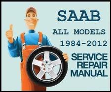 SAAB WIS & EPC 9-3 9-5 OEM Factory Service Shop Repair Manual 9440 9600 9650