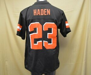 on sale c2751 09c5c Details about NFL Team Apparel Youth Cleveland Browns Joe Haden Jersey New  S, M, XL