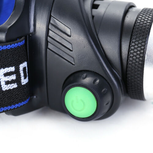 Zoom 15000LM LED Headlight Torch T6 Headlamp Head Light Lamp 18650 Charger