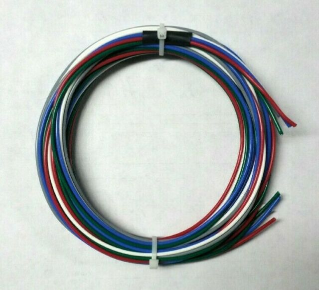 16 AWG Mil-Spec Wire (PTFE) Stranded Silver Plated Copper, ortment Mil Spec Wiring on