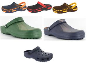 Mens-Clogs-Sandals-Garden-Work-Hospital-Kitchen-Holiday-UK7-8-9-10-11-12