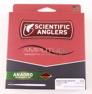 ALL SIZES Scientific Anglers Amplitude Smooth Anadro Fly Line FREE FAST SHIP
