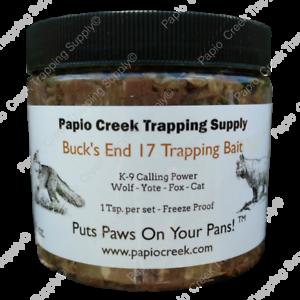 Papio-Creek-Buck-039-s-End-17-Trapping-Bait-16-oz-Wolf-Yote-Fox-Cat-Freeze-Proof