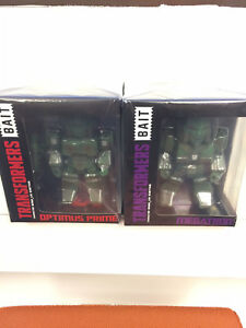 Nycc Exclusivité Pop Bait Transformers Camo Megatron Optimus Prime Set Large