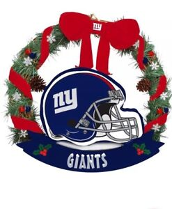 New York Giants Helmet Christmas Ornament