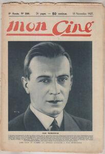 C1-CINEMA-Mon-Cine-299-1927-Ivan-PETROVICH-Ica-de-LENKEFFY