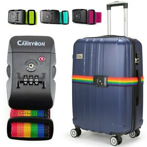 Miami-CarryOn-Adjustable-Luggage-Strap-with-a-Built-in-TSA-Combination-Lock