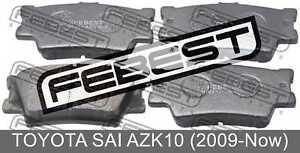 Pad-Kit-Disc-Brake-Rear-For-Toyota-Sai-Azk10-2009-Now