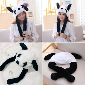Women Lovely Rabbit Ear Hat Cap Party Comfy Gift Warm Cosplay Costume Girl