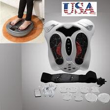 Electromagnetic Wave Pulse Circulation Foot feet Massager Reflexology Booster A+