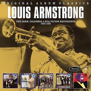 LOUIS-ARMSTRONG-ORIGINAL-ALBUM-CLASSICS-5-CD-NEU