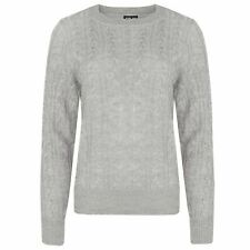 Ladies Mohair Jumper Threadbare Womens Cable Knitted Sweater ...