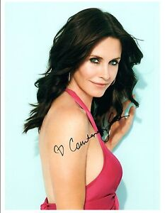 Courteney-Cox-Signed-Autographed-8x10-Photo-Cougar-Town-Friends-Hot-COA-VD