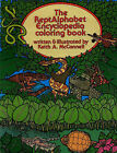 The Reptalphabet Encyclopedia Coloring Book by Keith McConnell (Paperback, 1984)
