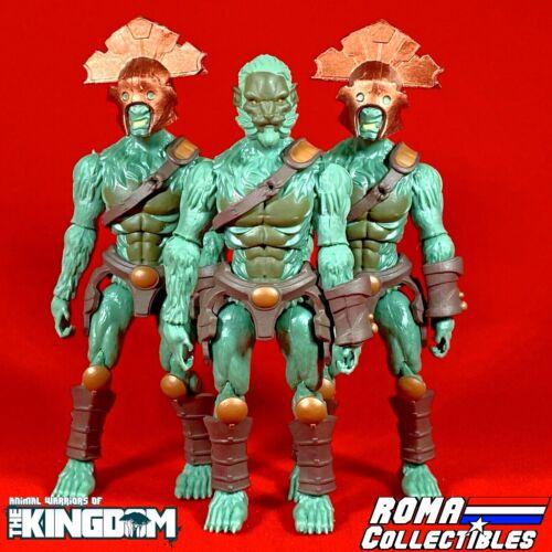 Animal guerriers du royaume tomans la tourbière Guerrier Lot de x3-Roma Exclusive