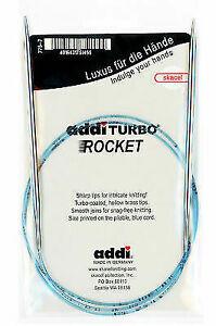 40 cm 10.0 mm Knitting Needle Size US 15 NEW ADDI TURBO Circular 16 inch