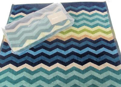 Intenzionale Missoni Home Asciugamano Bagno Bath Towel Pete 170 60x100cm Chevron Collection